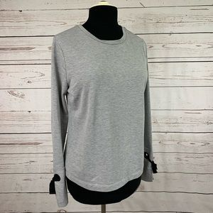 A New Day grommet sleeve top